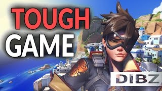 Overwatch: Rough Game On Illios! GrandMaster Competitive Tracer