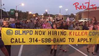 St. Louis 10/05/2017 Stockley Protests Night 21 – RebZ.TV