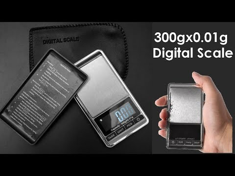 MiNi Electronic Digital Scale 300gx0 0.01g