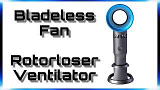 "ROTORLOSER Ventilator • Bladeless Handheld Fan | Test & Review | 4K Ultra HD | ""DaLaMo"""