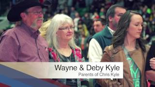 Swypit Honors Chris Kyle at Military Appreciation NIght – Texas Legends