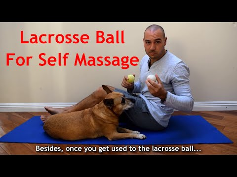 ⚽ How to use a Lacrosse Ball ⚽ for Self Massage with Antranik