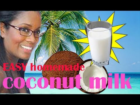 Easy Homemade Coconut Milk (From dried coconut)