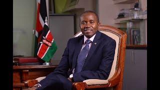 Why CS Joe Mucheru has declined to comment on TV shutdown during Raila's swearing-in