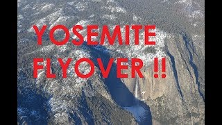 Bakersfield to Placerville, CA feat. Yosemite Flyover! (Cessna 172SP)