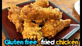 100% Gluten Free Fried Chicken