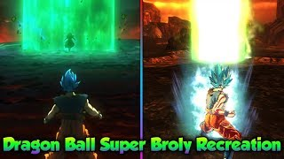 Dragon Ball Super BROLY Movie Recreation - Dragon Ball Xenoverse 2