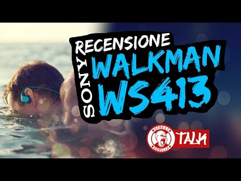 MIGLIOR LETTORE MP3 SPORT IMPERMEABILE ?| recensione Sony Walkman NW - WS413 | cuffie waterproof