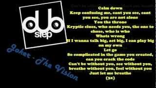 Joker - The Vision (ft. Jessie Ware) lyrics on screen HD