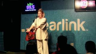 Anne-Marie - Then & Alarm LIVE + INTERVIEW   Clearlink Lounge