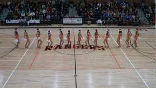 """Rockin' Around the Christmas Tree"" by Miley Cyrus LPHS Poms Routine"