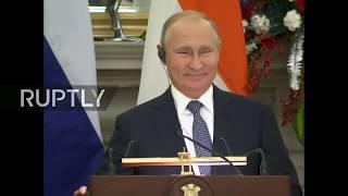 LIVE:PutinvisitsIndiafortalkswithPMModi:jointpressconference