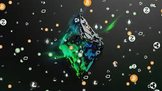 ETHEREUM Background Effect Free / КРИПТО видео заставка
