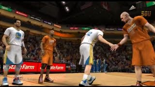 NBA 2K14: Golden State Warriors vs Phoenix Suns Gameplay