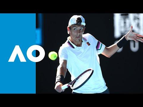 Final tiebreak: Lorenzo Musetti v Emilio Nava junior boys finals match (F) | Australian Open 2019