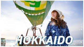 Bearhug's Trip: 100-Hour Love Trip With Hokkaido Snow ❄️ ☃️