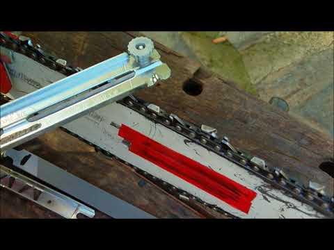 Cadena cortante motosierra.