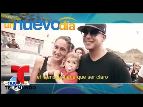 ¡Daddy Yankee llega a Puerto Rico con donaciones! | Un Nuevo Día | Telemundo