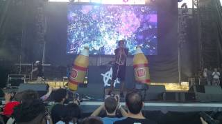 """A$AP Rocky - """"Excuse Me"""" Live at Roots Picnic"""