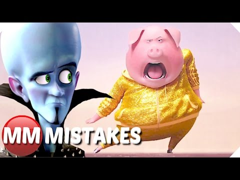 10 Biggest Mistakes in Animated Movies | Sing | Minions | Storks | Megamind - Movie Mistakes