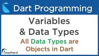 #3.1 Dart Data Types and Variables. Dart Tutorial for Flutter
