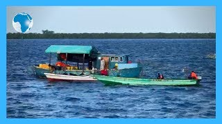 Floating Fuel Station in Lamu island