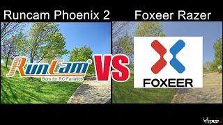 FPV Camera Comparison - Runcam Phoenix 2 VS Foxeer Razer - Which One is Better?