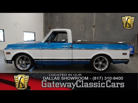 Video of 1971 Chevrolet C10 located in DFW Airport Texas - $32,595.00 Offered by Gateway Classic Cars - Dallas - LV14