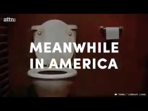 美國的廁所 VS 日本的廁所