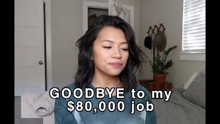 I QUIT MY CORPORATE JOB TO START A BUSINESS