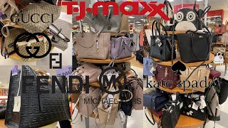 TJ Maxx Luxury Handbags Designer Purse Gucci Givenchy Michael Kors Kate Spade | Shop With Me 2019