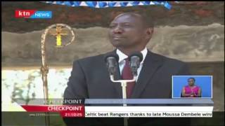 CheckPoint: DP William Ruto is urging people to join the Jubilee party while in Kisii 23/10/2016