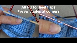 Tips & Tricks for Sock Heel Flaps