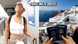 Traveling To Greece: Mykonos And Santorini Vlog