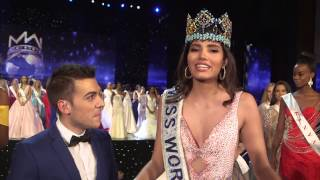 Miss World 2016 First Interview
