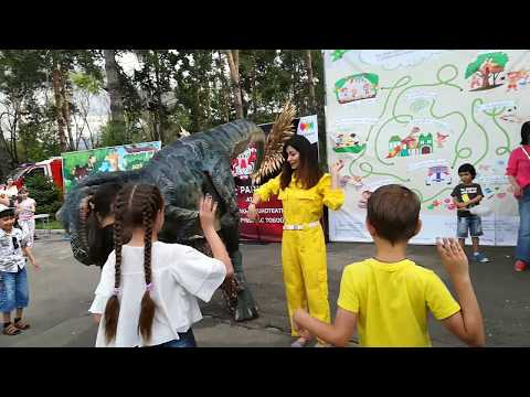 Скибиди Танцуют дети Танцует динозавр