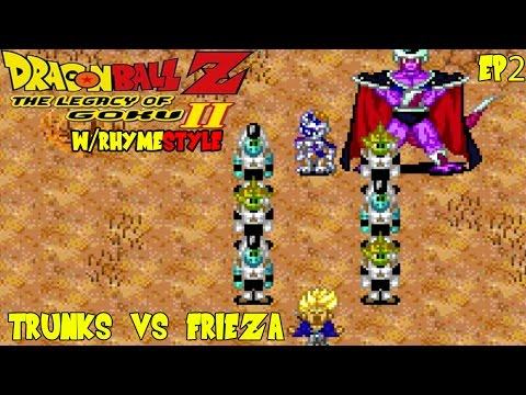 Dragon Ball Z Legacy of Goku 2: Trunks Kills Frieza & King Cold (Ep 2)