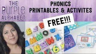 FREE PHONICS Printable Activities HOMESCHOOL