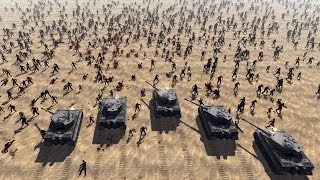 TANKS vs ZOMBIES - Red Rising MOD