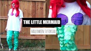 The Little Mermaid Halloween Costume Tutorial