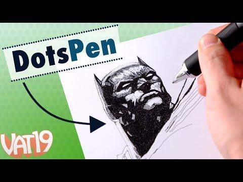 DotsPen Electric Pen = Awesome Art!