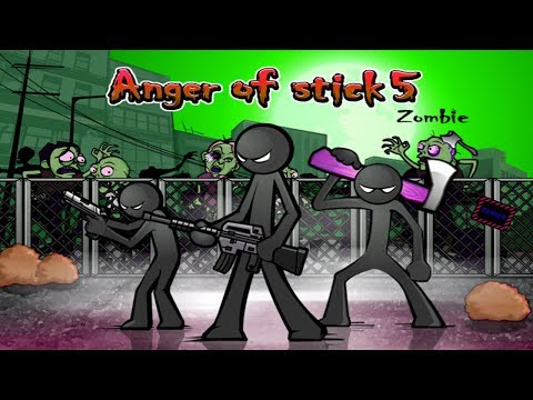Anger of Stick 5 Apk: All Weapons Unlocked # Hacked 2018 - Android GamePlay#6