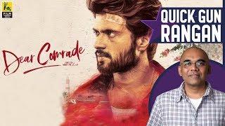 Dear Comrade Movie Review By Baradwaj Rangan   Vijay Deverakonda   Rashmika Mandanna   Bharat Kamma