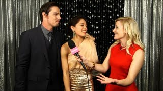 Jay Ryan And Kristin Kreuk Celebrate Surprise Beauty And The Beast Win At Peoples Choice Awards