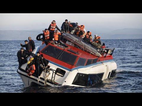 Ναυάγιο με μετανάστες στους Παξούς- Τουλάχιστον 12 νεκροί…
