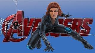 Kickboxing Workout Avengers Infinity War (Black Widow) by Relentless Jake Fitness