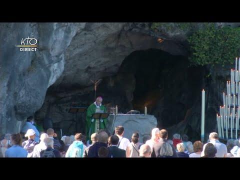 Messe du 4 septembre 2020 à Lourdes
