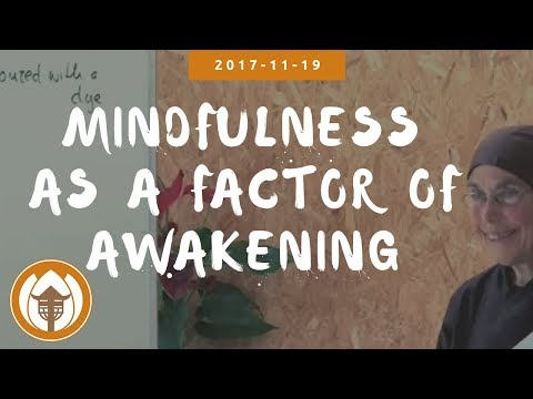 Mindfulness as a Factor of Awakening