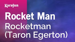 Karaoke Rocket Man   Rocketman *