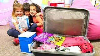Fındık Ailesi Tatil Için Bavul Hazırlıyor